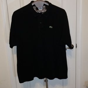 Lacoste Men's Polo Black XXXL